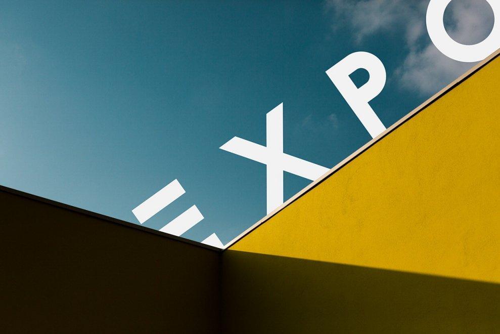 Expo, non solo code infinite: geometrie e colori sono minimal
