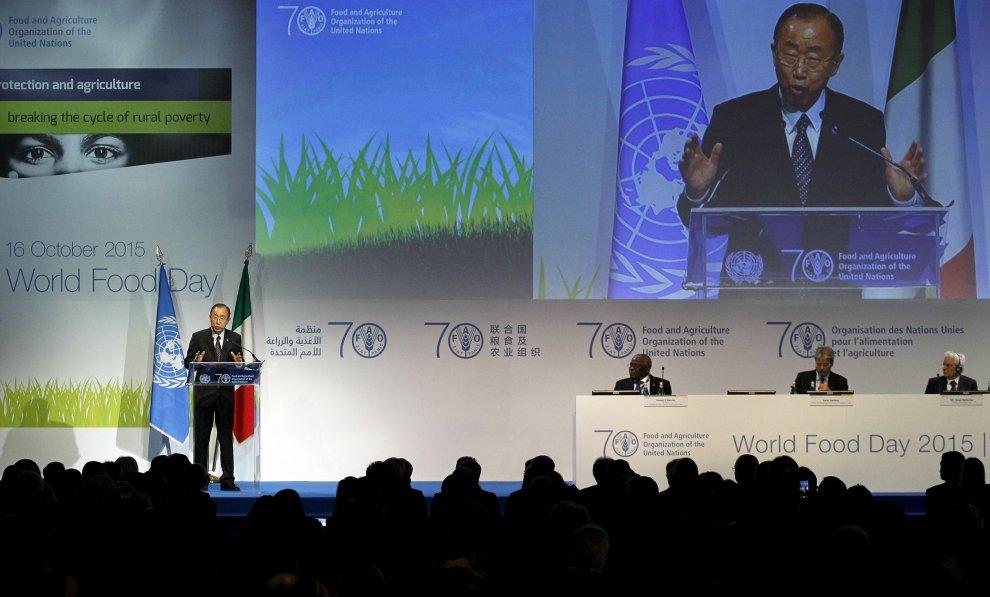 Expo, è la Giornata mondiale dell'alimentazione con Ban Ki-moon e Mattarella