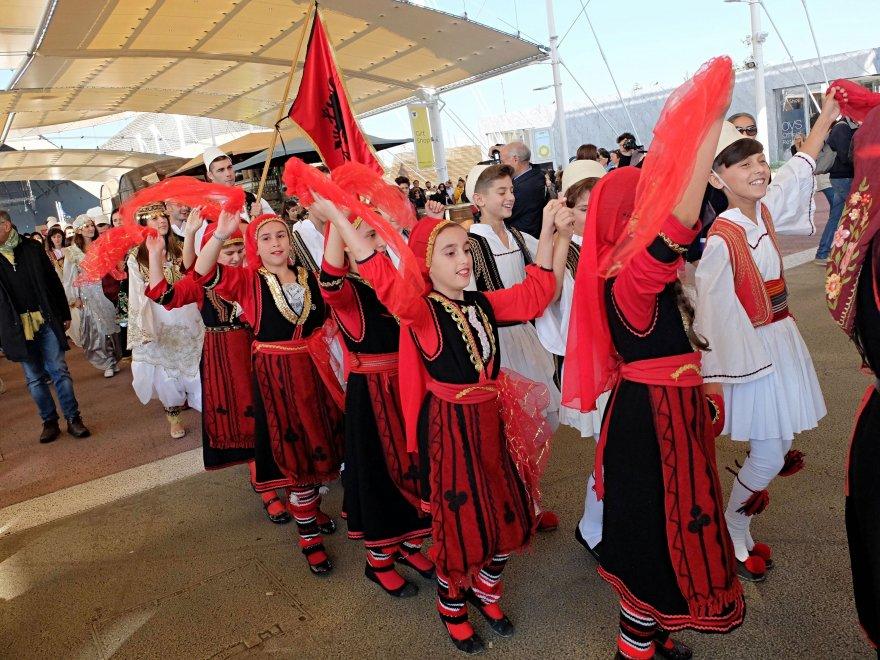 Expo: storia, cibo e mistero nella giornata dedicata all'Albania