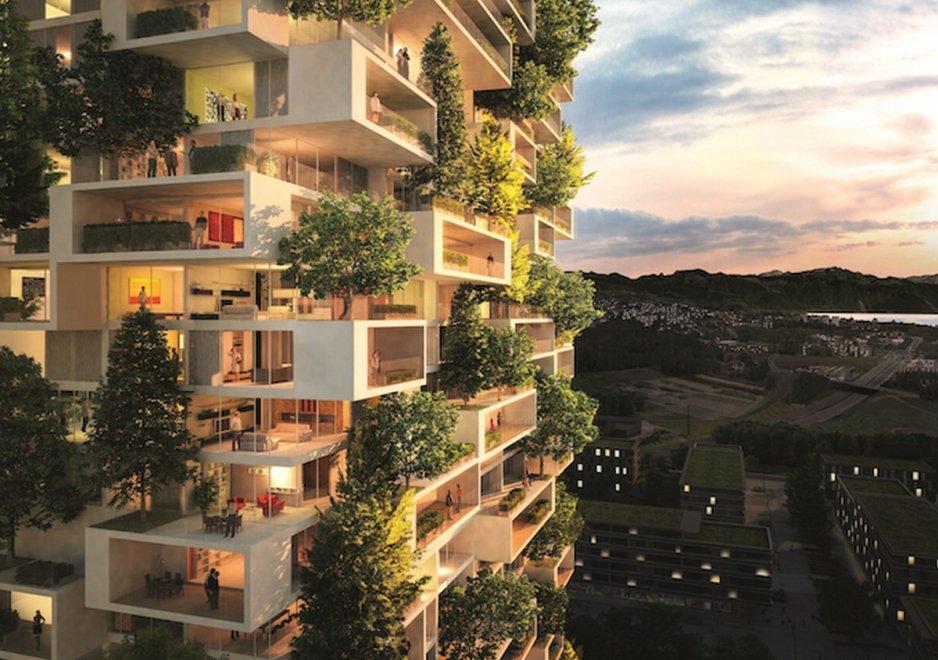 Il Bosco Verticale ha un erede: nasce la Torre dei Cedri, 36 piani di sempreverdi