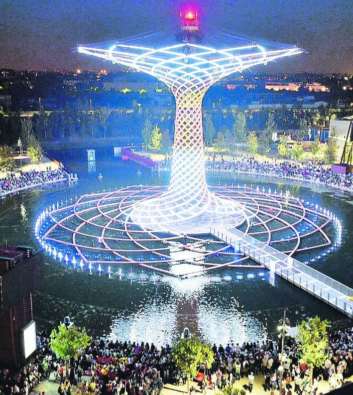 Expo, operazione 'freezing' per l'Albero della Vita: 360mila euro per proteggerlo fino ad aprile