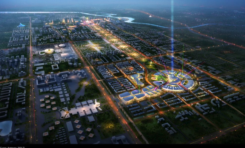 Expo l 39 italia dice s al kazakistan via ai progetti per for Expo milano 2017