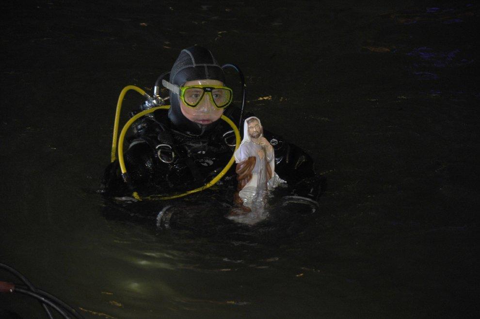 nella Darsena c'è il presepe subacqueo