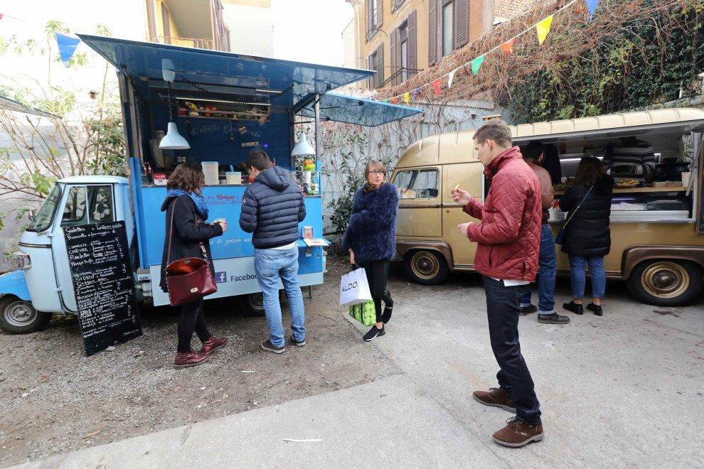 il festival natalizio della cucina di strada