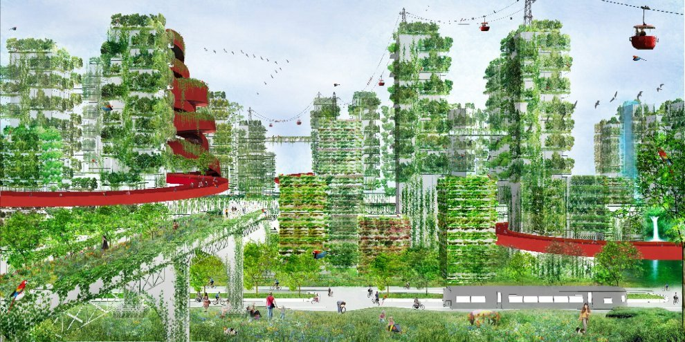 Milano il bosco verticale si moltiplica ecco la citt for Design city milano