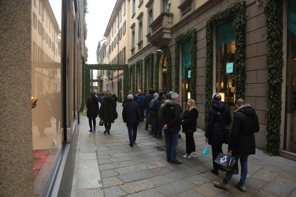 milano corsa al regalo last minute code da tiffany in