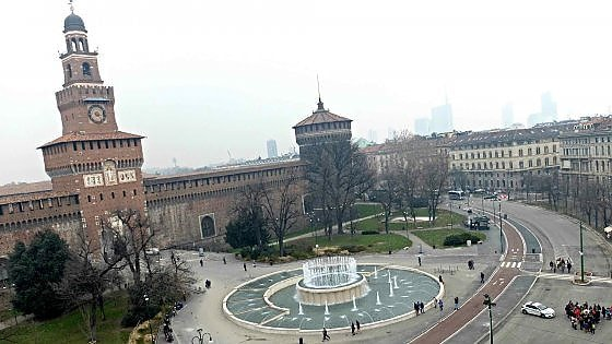 Milano piazza castello rester per sempre una zona for Arredare milano piazza iv novembre