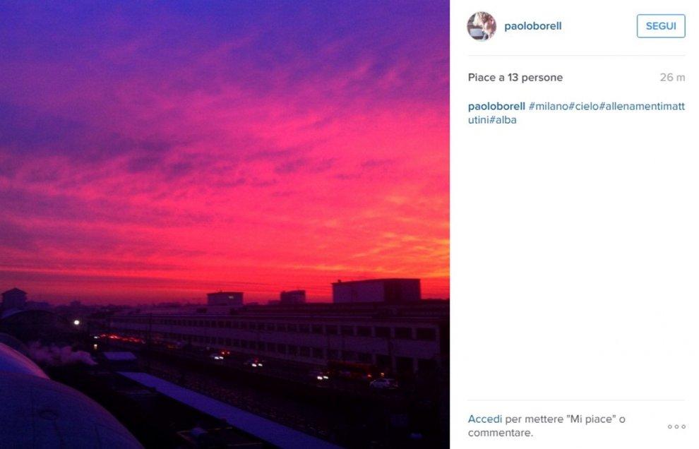 Il cielo rosa di Milano fa impazzire Instagram