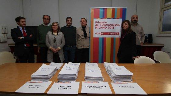 Primarie Milano, 10mila firme per i candidati del centrosinistra: tra una settimana primo confronto a quattro