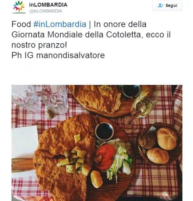 Milano, la giornata mondiale della cotoletta: sui social l'orgoglioso milanese