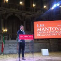 Renzi a Mantova, capitale della Cultura: