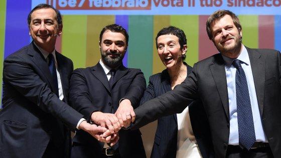 Milano, sondaggio Swg sulle primarie: Sala al 50 per cento, Balzani e Majorino alla pari