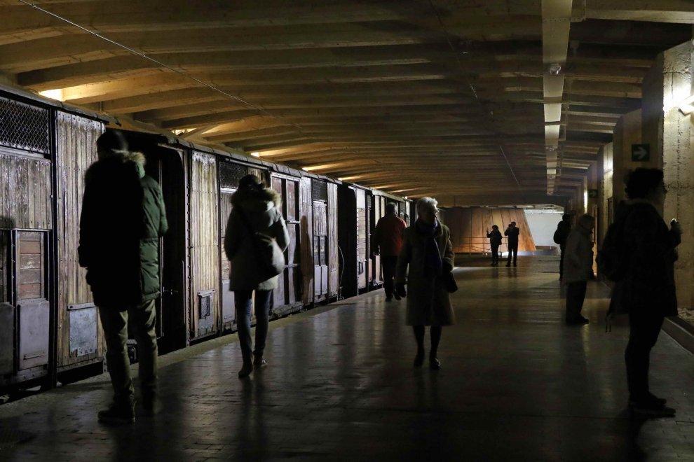 Milano, sui binari della Memoria per non dimenticare la Shoah