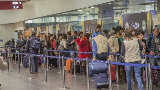 Bergamo, Orio al Serio festeggia il record: +18,6%, quasi 10,5 milioni di passeggeri