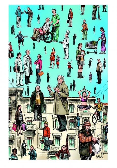 Milano, grandi fumettisti per Jannacci: le opere all'asta per solidarietà