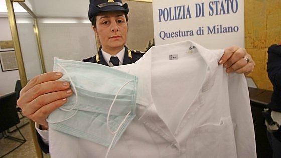 Sesto, travestita da medico svuotava gli armadietti degli ospedali: 52enne finisce in manette