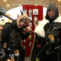 Milano, fantasy e horror: l'invasione dei cosplayer alla fiera del fumetto