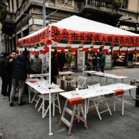 Primarie Milano, info point a Chinatown: