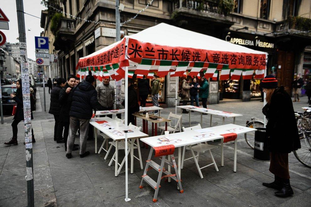 """Primarie Milano, info point a Chinatown: """"Ci siamo organizzati"""""""