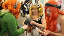 Fantasy e horror l'invasione dei cosplayer alla fiera del fumetto