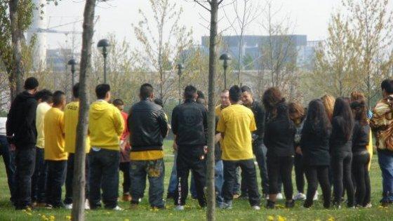 Latinos a Milano tra odio 8a28d7cb68d2