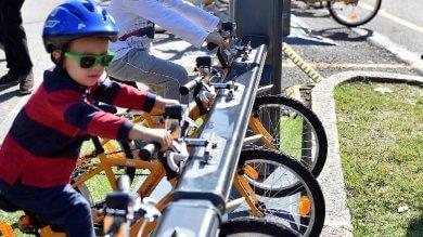 Parte Junior bike sharing: in 20 stazioni  di noleggio le bici formato bambino
