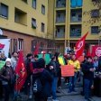 """Case popolari, la protesta ferma lo sgombero  L'assessore regionale  """"E' ora di usare la forza"""""""