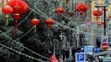 Chinatown, le lanterne rosse del Capodanno:  i preparativi della festa