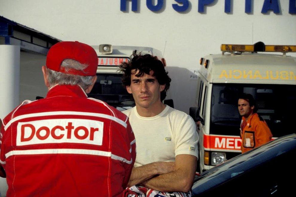 """Monza, al museo dell'Autodromo """"L'ultima notte di Senna"""""""