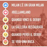 Facebook reactions: il Comune lancia le istruzioni milanesi per l'uso