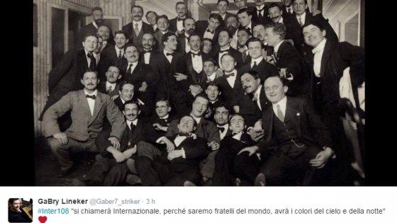 """""""Accoglieremo i fratelli del mondo"""": l'Inter rispolvera l'antico slogan per festeggiare i 108 anni"""