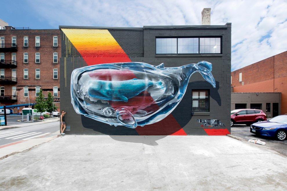 Street music art ad Assago, i writer ospiti in azione da New York al Sudafrica