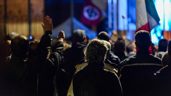 Ultradestra a Milano per l'ex Nar Morsello: 10 ore di musica nazirock in un luogo segreto