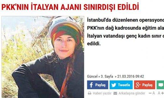 Istanbul, ragazza di 24 anni fermata per propaganda filo Pkk: bloccata in un Internet cafè