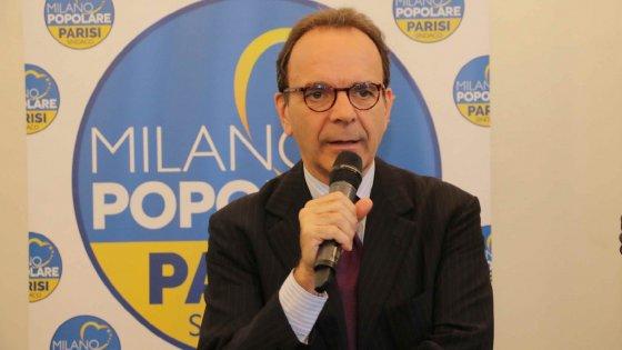 """Comunali a Milano, la scure di Parisi:  """"Se vinco revocherò il registro delle unioni civili"""""""