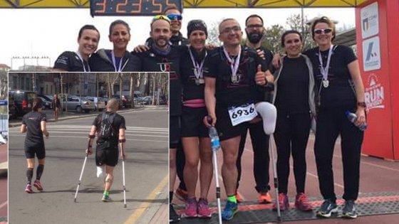 Stramilano, per i social il vincitore è Constantin:  di corsa per 21 chilometri con una gamba sola