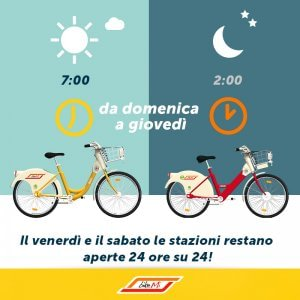 Bike sharing a milano arriva l 39 orario estivo in bici for Mobile milano bike sharing