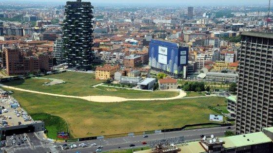 Milano foreste circolari e stanze vegetali a porta nuova for Giardino botanico milano