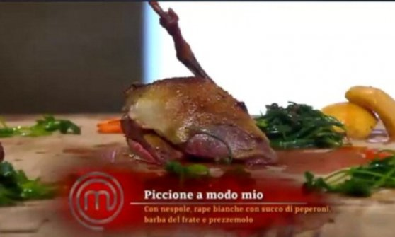 Masterchef, il caso del piccione cucinato da Cracco: il pm di Milano chiede l'archiviazione