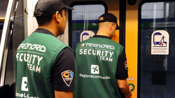 Trenord, le guardie armate salgono a bordo: in 100 per controllare le linee più pericolose