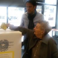 Trivelle, al seggio a 103 anni. Paola da Monza: