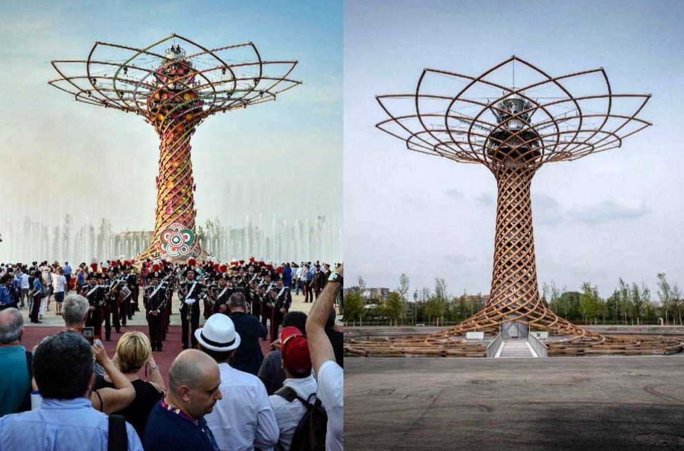 Expo ieri e oggi, l'Esposizione un anno dopo: il viaggio tra i padiglioni