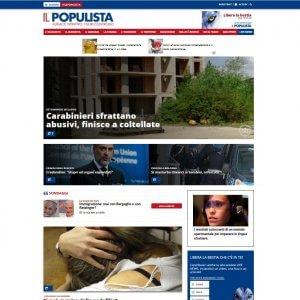 Milano: Salvini lancia il suo blog, protestano i giornalisti cassaintegrati della Padania