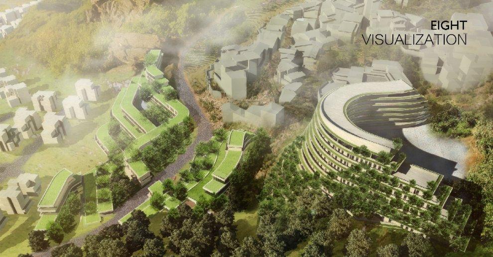La Torre Dei Cedri A Losanna : Il bosco verticale fa scuola in cina un hotel sostenibile