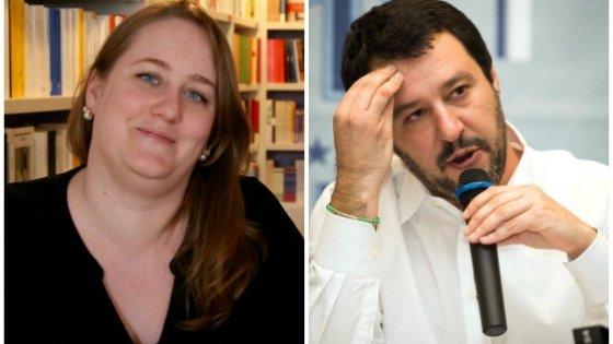"""Salvini, il post su Facebook contro la libraia di Vigevano scatena i suoi: """"Minacciata e insultata"""""""