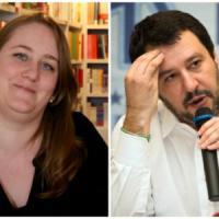 Salvini, il post su Facebook contro la libraia di Vigevano scatena i suoi: