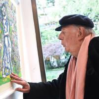 Milano, mostra di Dario Fo dedicata al suo 'pugile zingaro'