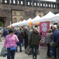 Milano, al Castello Sforzesco le Bandiere arancioni con i prodotti tipici di tutta Italia