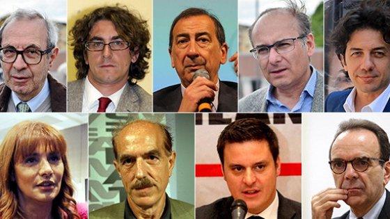Comunali Milano, i nove candidati su Facebook Live: botta e risposta sui programmi