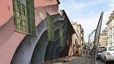 L'ex fabbrica diventa un'opera d'arte: 800 m. di murale firmati 1010